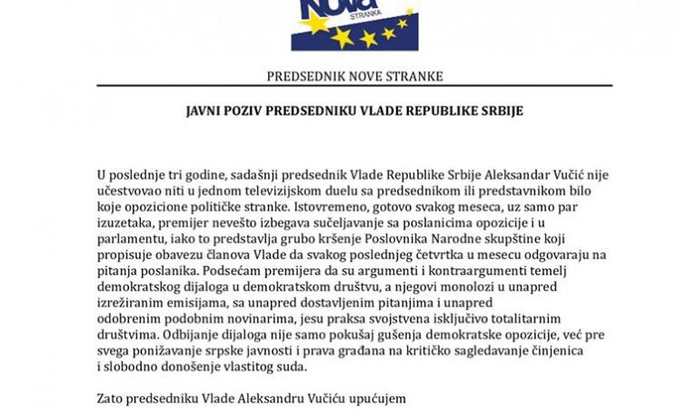 Živković izazvao Vučića na TV duel