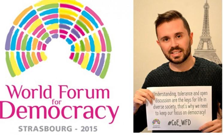 Domjesko izabran za ambasadora Svetskog foruma za demokratiju