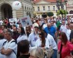 Novi Sad: Kakva vlast, takva i proslava