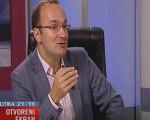 Pavićević u emisiji Otvoreni ekran na TV Kanal 9