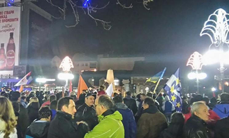 Zaječar: Podrška protestu uprkos međustranačkim razlikama