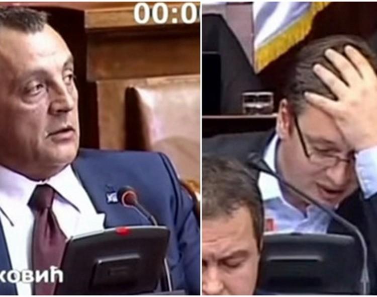 Raskrinkane neistine i licemerje Vučića