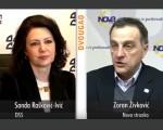 Živković u emisiji Dvougao na RTV 1