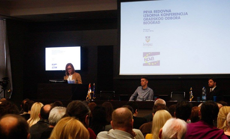 Održana Izborna konferencija Gradske organizacije Nove stranke Beograd
