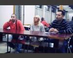 Gradska odbornica Aleksandra Hristić u razgovoru sa Mirijevcima