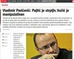 Pavićević za Nedeljnik: Pajtić je strpljiv, Vučić je manipulativan