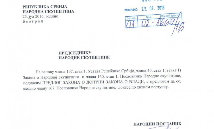 Živković: Kandidati za ministre da pokažu lekarsko uverenje