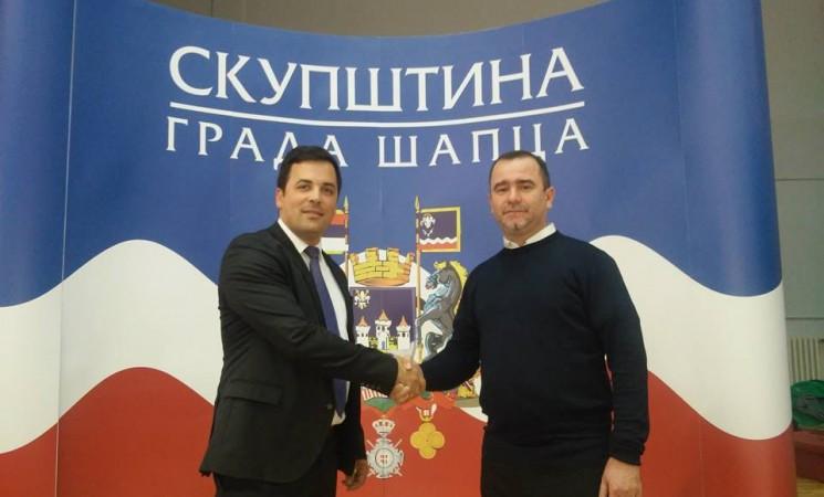 Jerinić postao odbornik u Skupštini grada Šapca