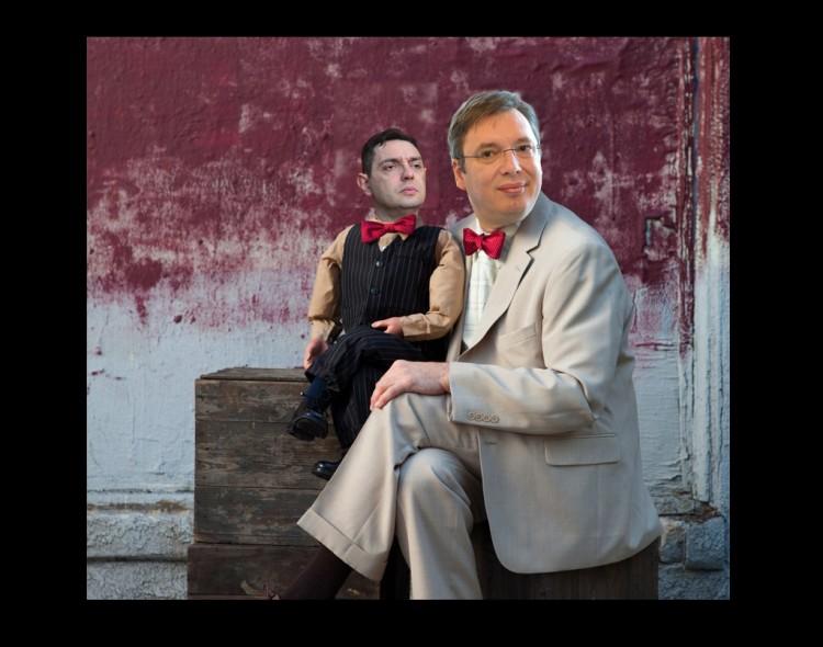 Trbuhozborac Vučić i njegov lutak Vulin