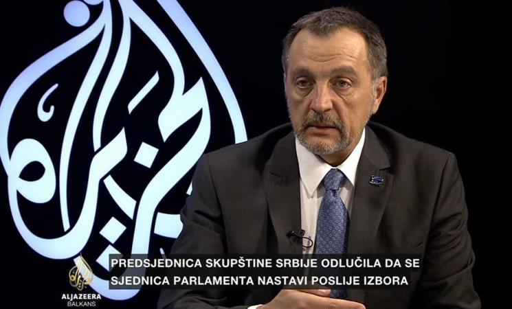 Živković: Vučić se plaši da će izgubiti izbore