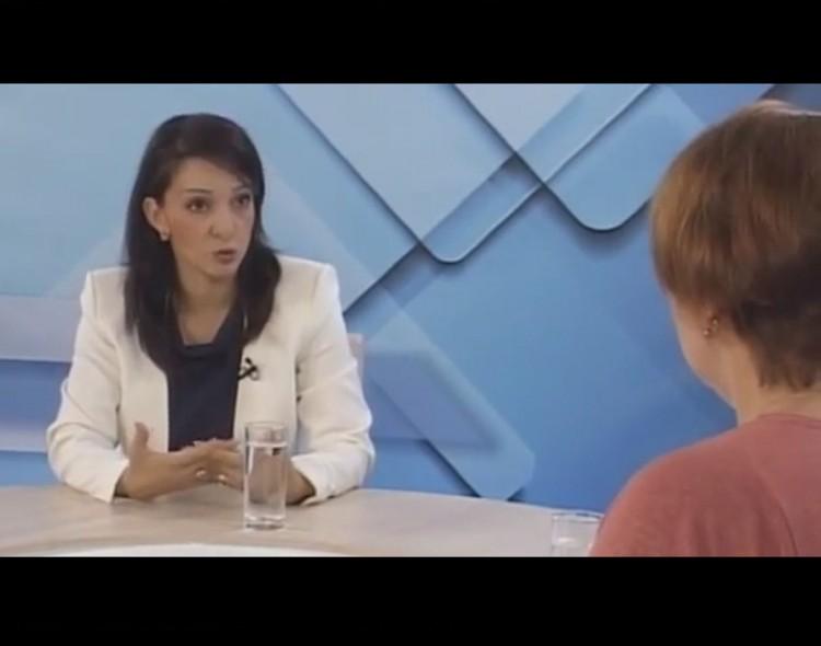Marinika Tepić u emisiji Necenzurisano na TV Šabac