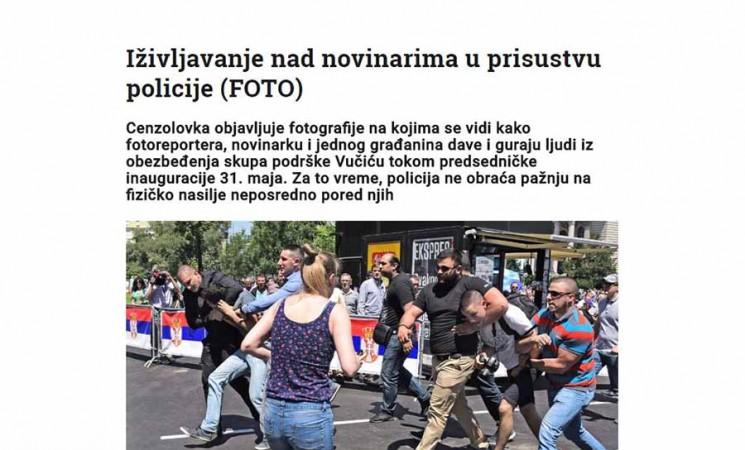 Dokumentovane gestapovske metode iživljavanja nad novinarima