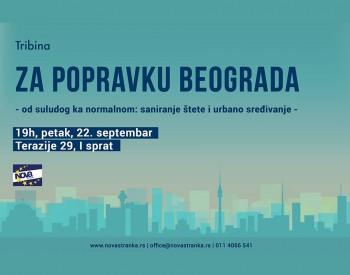 """Tribina """"Za popravku Beograda"""""""